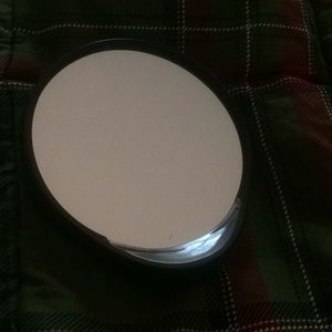 Free gift with purchase magnified pocket mirror